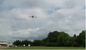 First Completed Autonomous Quadroter FEG Flight